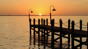 Picture of sunset over the Gulf of Mexico